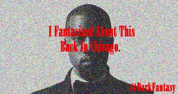 Kanye West, Dark Fantasy, Album Art